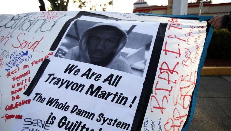 Demonstratie na de moord op Trayvon Martin Beeld reuters