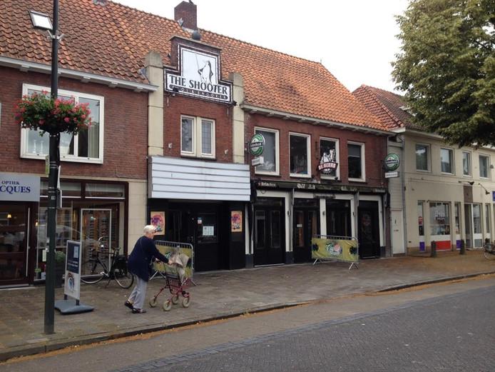 De voorzijde van het City Theater aan de Hoofdstraat in Schijndel.