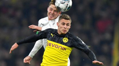 T. Hazard geeft assist voor winnende treffer van Dortmund in bekerduel tegen Gladbach, Lukebakio scoort tegen Dynamo Dresden