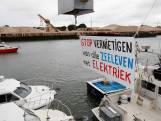 Vlaams protest tegen pulsvisserij