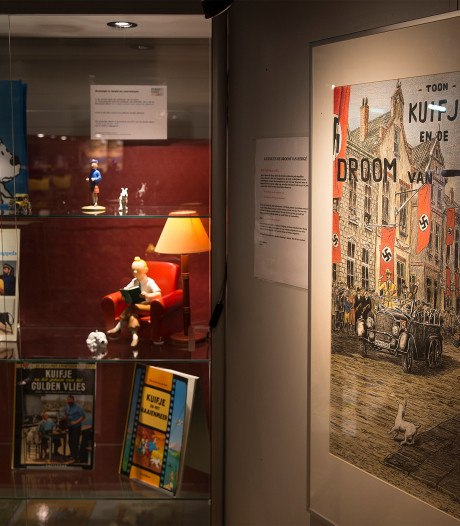 Na zijn dood staan de Kuifje-auto's van Sietze in het museum