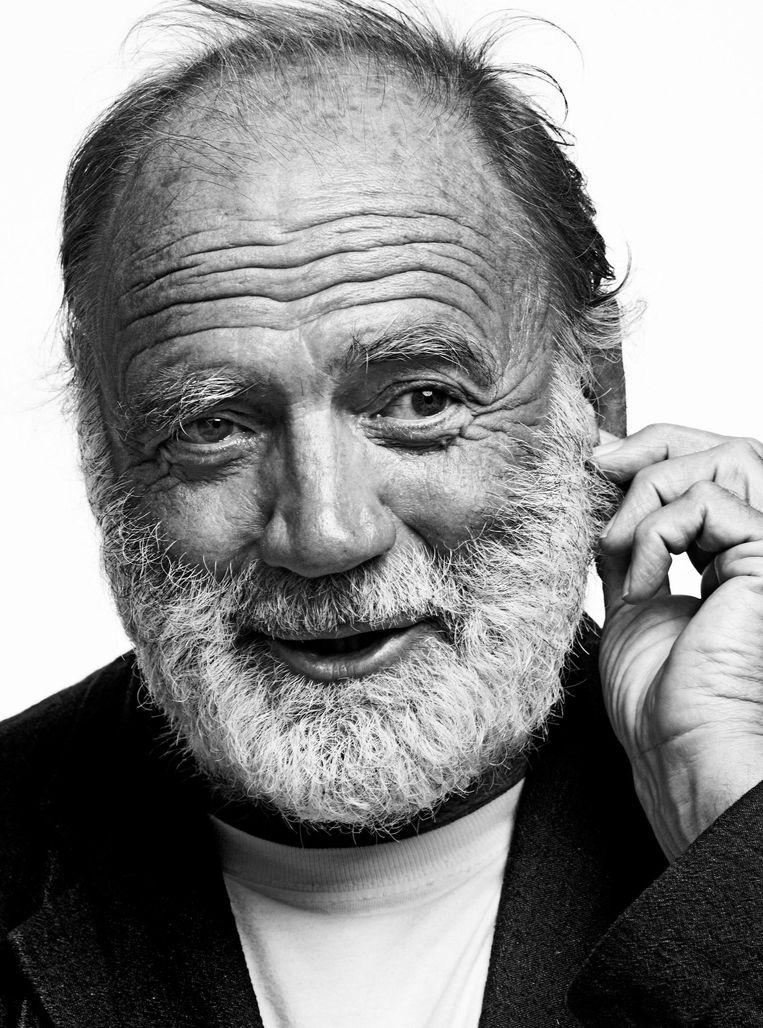 Bruno Ganz: 'Werken met Julia Roberts? Ik zou volkomen blokkeren.' Beeld Nathan Beck