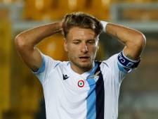 Lazio verslikt zich in laagvlieger Lecce en lijkt titel aan Juventus te moeten laten