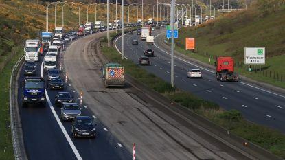 Werken aan E17 in Waasmunster dit weekend: oprit naar Antwerpen dicht