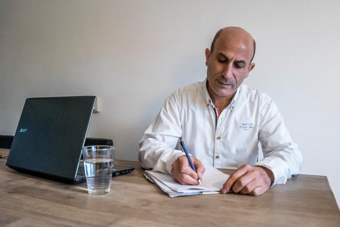 Salem Kafa - Syrische vluchteling en dichter