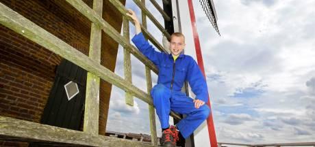 Bram (11) wordt opgeleid tot molenaar: 'Ik weet nu al meer van de molen dan mijn vader'