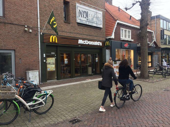 De McDonald's aan de Marktstraat in Uden gaat eind maart dicht.