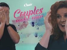 Stel neemt elkaars haar onder handen in Couples Make-over