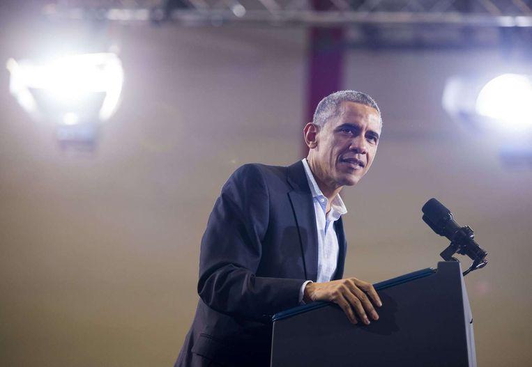 President Obama. Beeld ap
