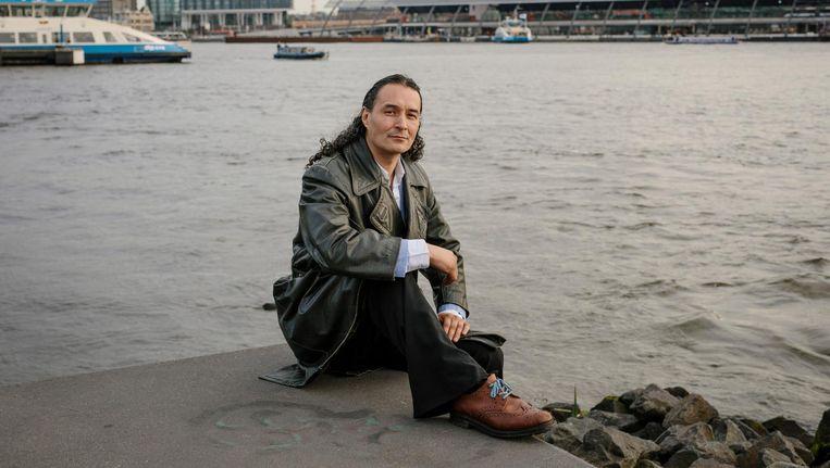 David van Os: 'Twintig jaar dakloos levert veel spanning op' Beeld Marc Driessen