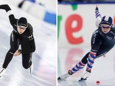 Dione Voskamp is familie en ook schaatsster, maar verder de absolute tegenpool van Jutta Leerdam