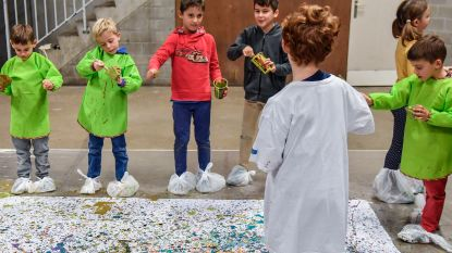 Kunstendag voor Kinderen draait rond eten en drinken