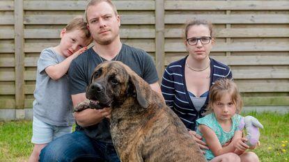 Vijf maanden oude puppy gestolen uit tuin