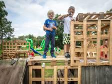 Een hut bouwen in Lewedorp is het allerleukste