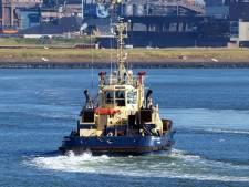 Staking bij sleepbedrijf: hinder voor   scheepvaartverkeer