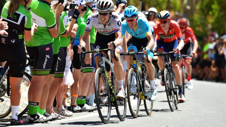 Impey wint Tour Down Under, Wout Poels wordt derde