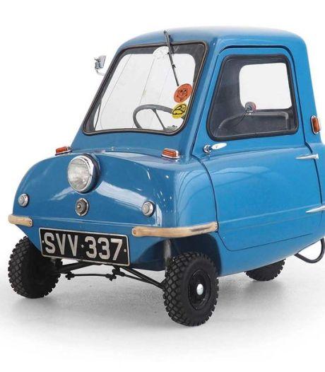 Kleinste auto ter wereld brengt groots bedrag op