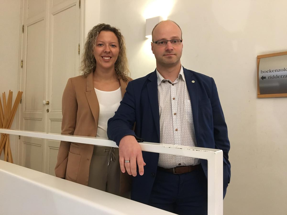 Yana Giovanis en Lieven Buysse.