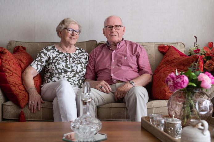 Het echtpaar Pieper is 60 jaar getrouwd.