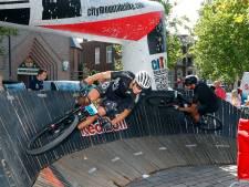 Mountainbiken door centrum Valkenswaard: 'City Mountainbike is nuttig om explosiviteit te trainen'