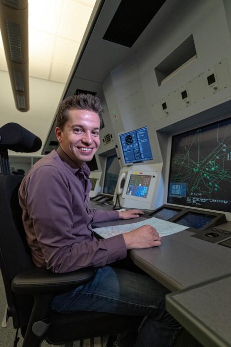 Thomas is luchtverkeersleider én runt de Alphense Game Arena: 'de ideale combinatie'