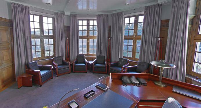 Binnen kijken in het Torentje van de minister-president.