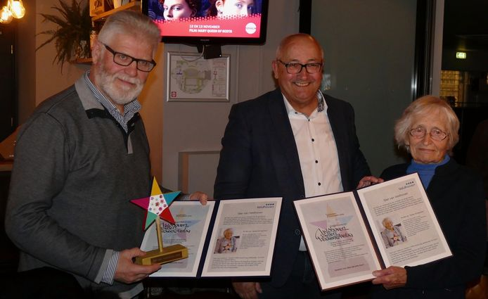 Paul van Keulen, Ad van den Oever en Toos van Lieshout.
