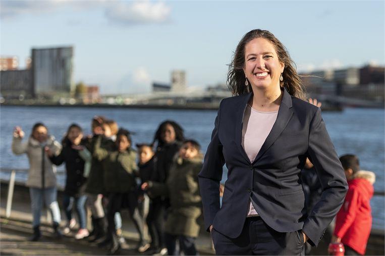 Wethouder Marjolein Moorman: 'Als we halverwege 2020 pas beginnen, is dat voor een grote groep te laat.' Beeld -