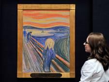 Wereldberoemd schilderij 'De Schreeuw' van Munch schreeuwt niet
