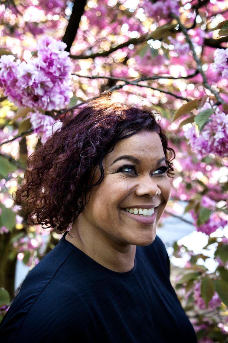 Anousha Nzume: 'Ik had niet verwacht dat we nu nog zo zouden moeten struggelen, zeker wonende in Amsterdam' Beeld Ernst Coppejans