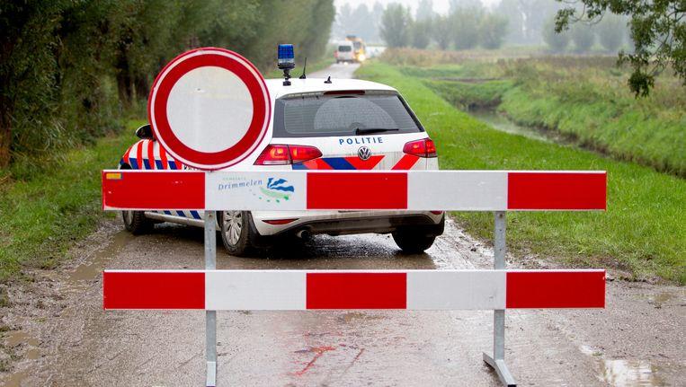 Brian Dalfour van motorclub No Surrender werd dood gevonden in een recreatiewoning in Hooge Zwaluwe. De tweede dode zou de Macedoniër Muljaim Nadzak zijn. Beeld ANP