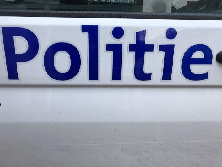 De politie kwam ter plaatse.