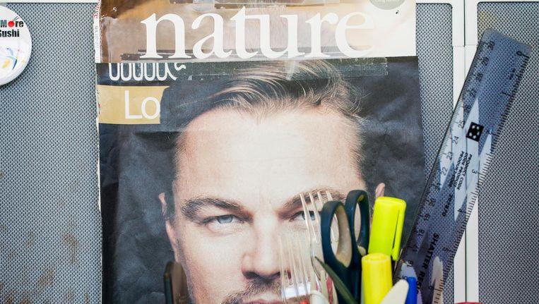 Een cover van het wetenschapsblad Nature. Beeld Jiri Buller/de Volkskrant