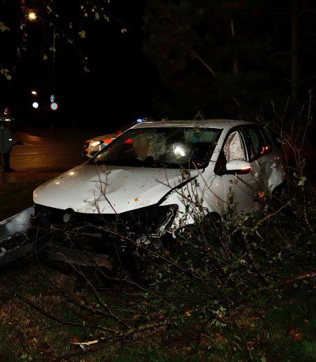 Gewonde door ongeluk op rotonde in Cuijk