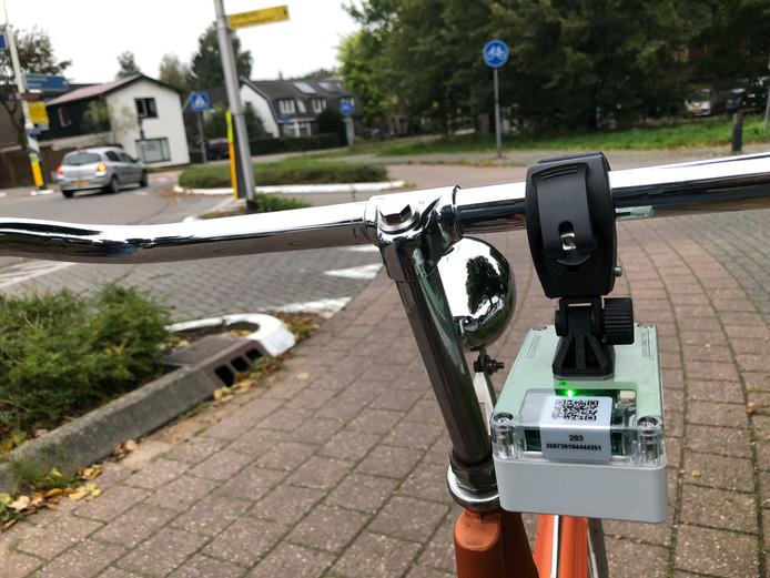 Snuffelfiets wordt in Zwolle geïntroduceerd. De sensoren meten fijnstof, maar ook snelheid en bijvoorbeeld opstoppingen in het verkeer.