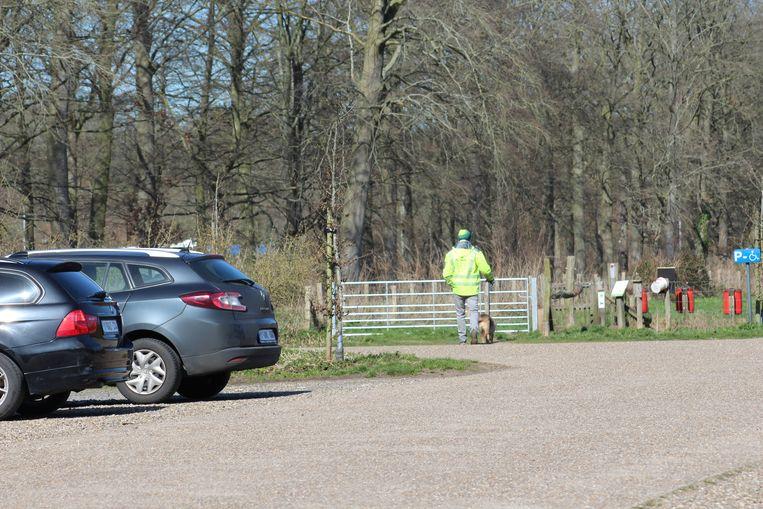 Ook in het Ryckeveldebos zal gecontroleerd worden.
