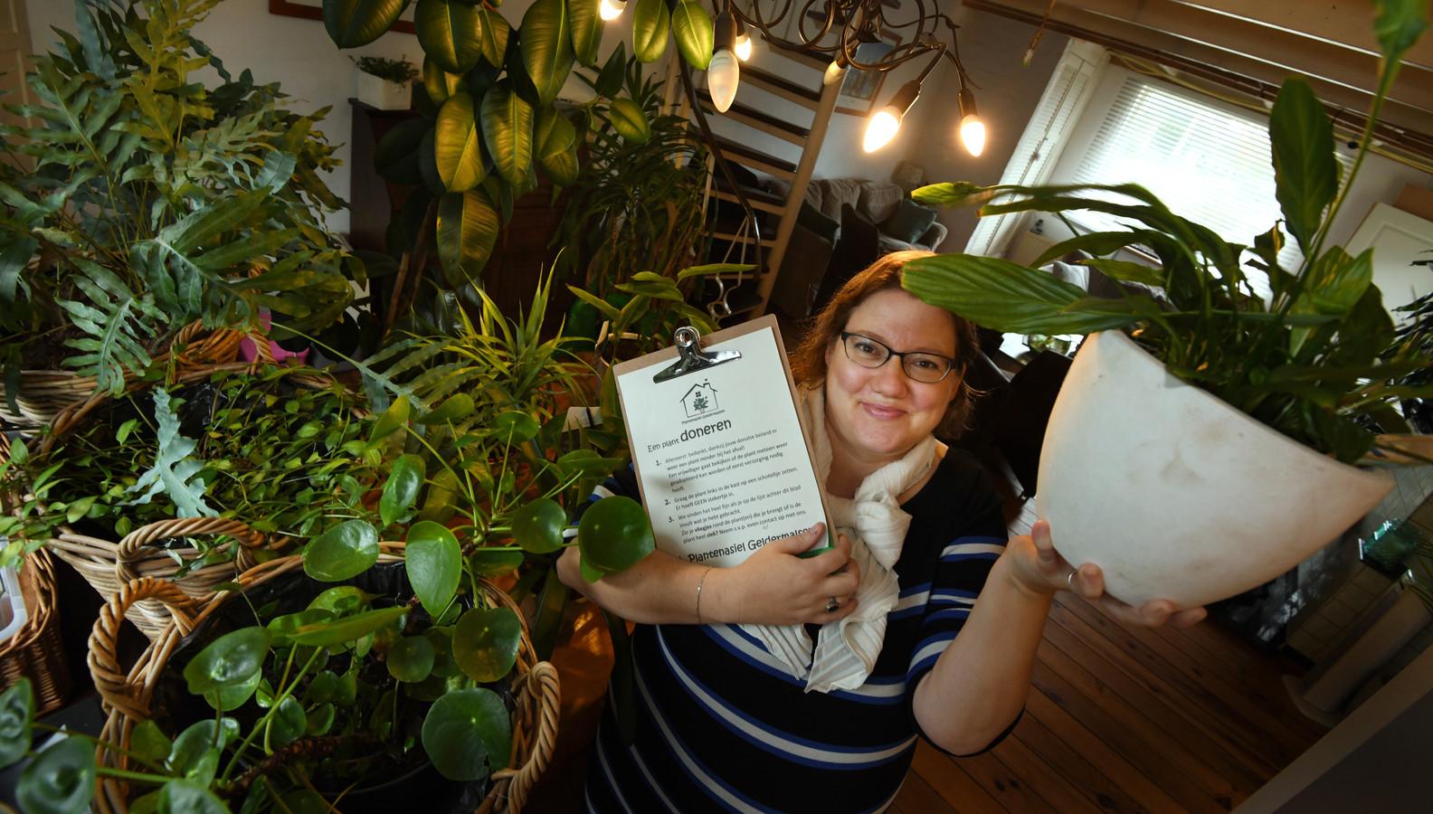 Geldermalsen Mersa Damen heeft een planten asiel.Foto William Hoogteyling.