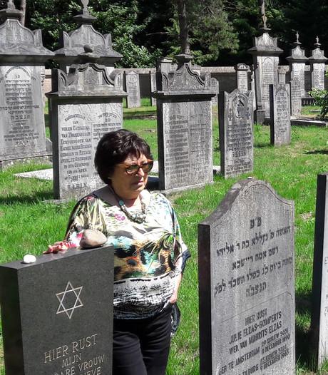 Marijke heeft haar plekje op de Joodse begraafplaats al gemarkeerd