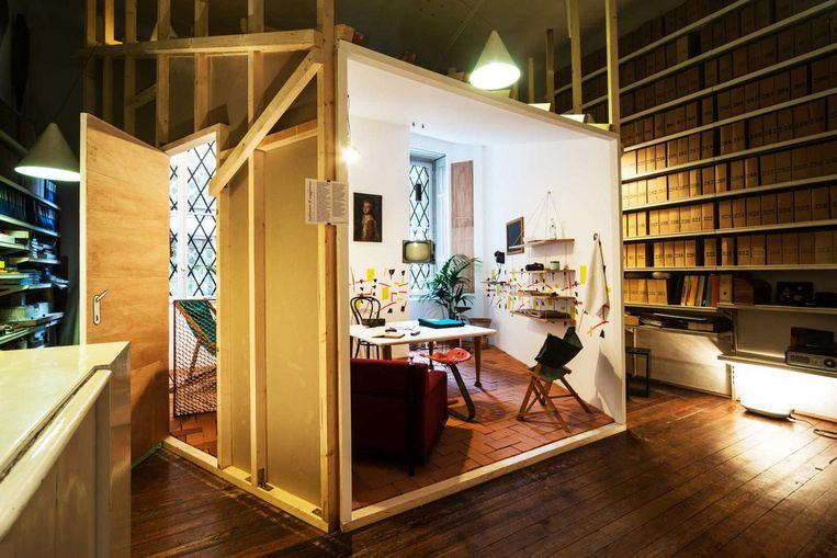 Studio Museo Achille Castiglioni in Milan, 'Mijn favoriete designmuseum.' Beeld Fondazione Achille Castiglioni Studio