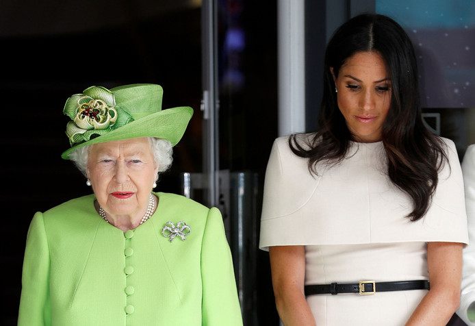Queen Elizabeth II en Meghan