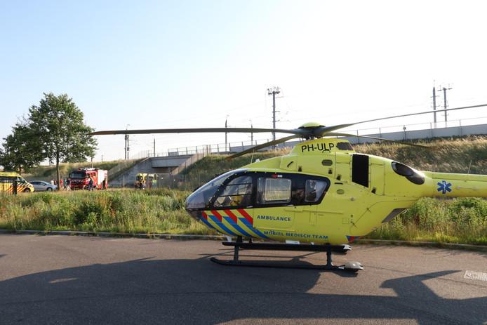 Man zwaargewond bij ongeluk op de Leursebaan.