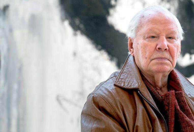 Kunstenaar Armando, geboren als Herman Dirk van Dodeweerd.