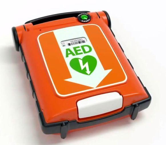 Een AED-toestel.