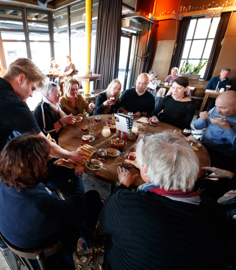 Boefjesbier met lekkere hapjes bij Bier en Spijsroute in Roosendaal