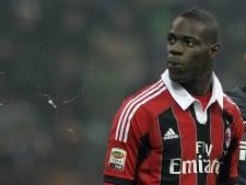 50.000 euro boete voor Inter voor racisme tegen Balotelli