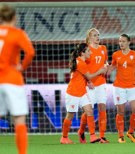 Oranjevrouwen stuiten ook in WK-kwalificatie op Noorwegen