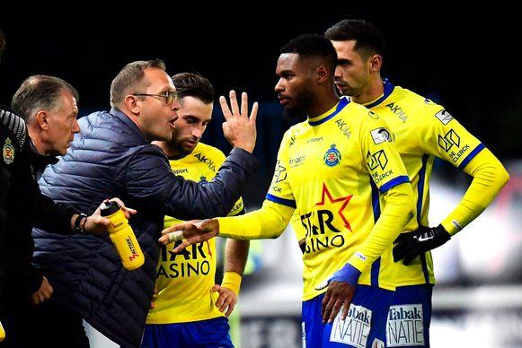 Arnaud Mercier, de nieuwe coach van Waasland-Beveren.