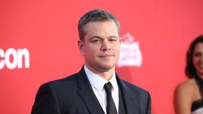 """Matt Damon: """"Ik ben de domste acteur aller tijden. En daar hou ik van"""""""