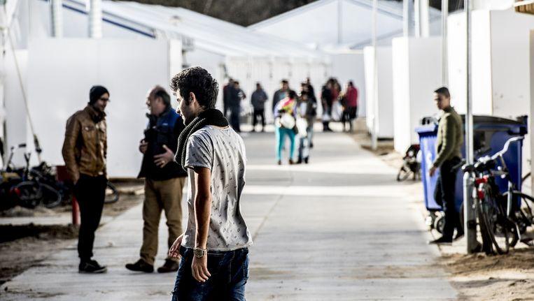 In tentenkamp Heumensoord wonen zo'n 3000 asielzoekers Beeld anp