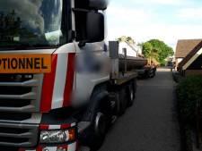 Vrachtwagenchauffeur veroorzaakt vier aanrijdingen in een middag in Aalst